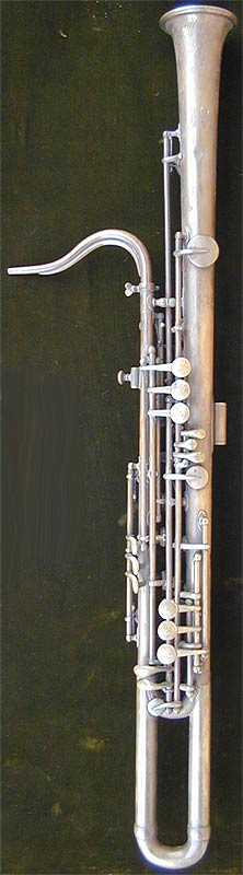 Early Musical Instruments, antique Alto Sarrusophone by Gautrot Marguet