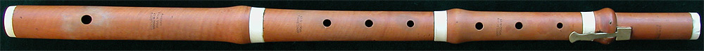 Early Musical Instruments, antique boxwood Flute by Goulding, Wood & Co.