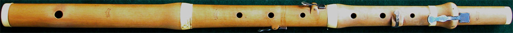 Early Musical Instruments, antique boxwood Flute by Cahusac