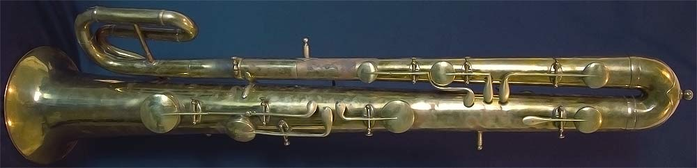 Early Musical Instruments, antique Ophicleide by GA Gautrot